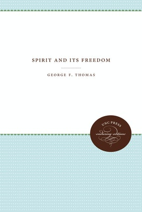 Spirit and Its Freedom