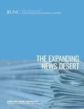 The Expanding News Desert