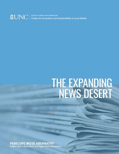 The Expanding News Desert