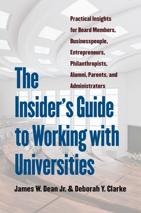 The Insider's Guide to Working with Universities