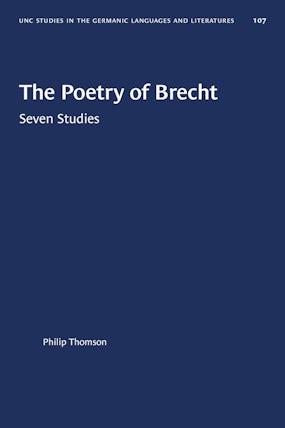 The Poetry of Brecht