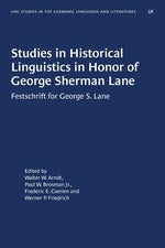 Studies in Historical Linguistics in Honor of George Sherman Lane