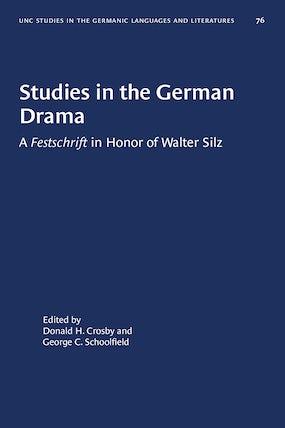 Studies in the German Drama
