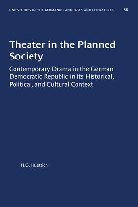 Theater in the Planned Society