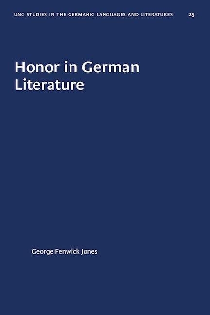 Honor in German Literature