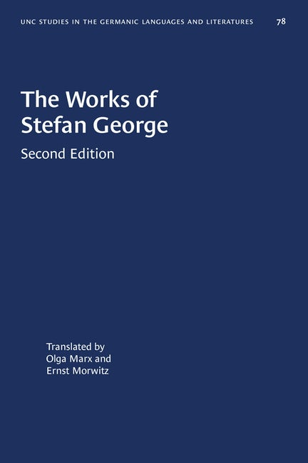 The Works of Stefan George