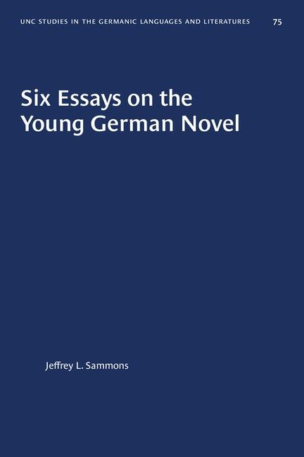 Six Essays on the Young German Novel