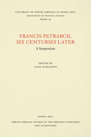 Francis Petrarch, Six Centuries Later