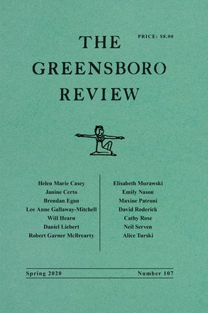 The Greensboro Review | Terry L. Kennedy | University of North Carolina  Press