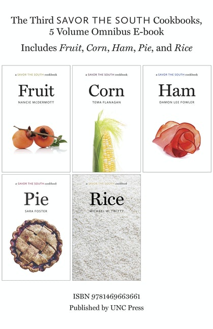 The Third Savor the South Cookbooks, 5 Volume Omnibus E-book