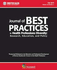 Journal of Best Practices in Health Professions Diversity, Fall 2019