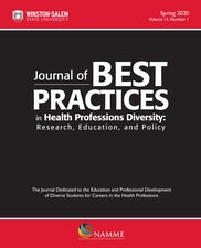 Journal of Best Practices in Health Professions Diversity, Spring 2020