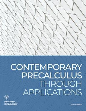Contemporary Precalculus through Applications