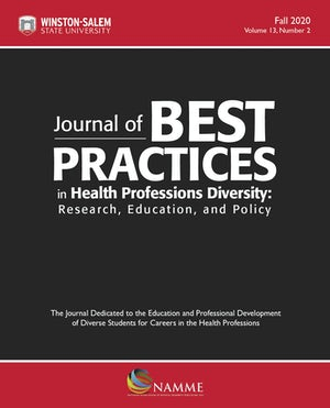 Journal of Best Practices in Health Professions Diversity, Fall 2020