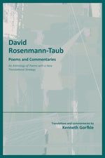 David Rosemann-Taub: Poems and Commentaries