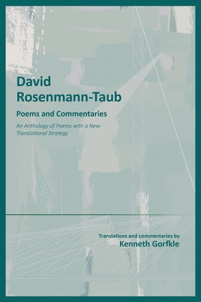 David Rosenmann-Taub: Poems and Commentaries